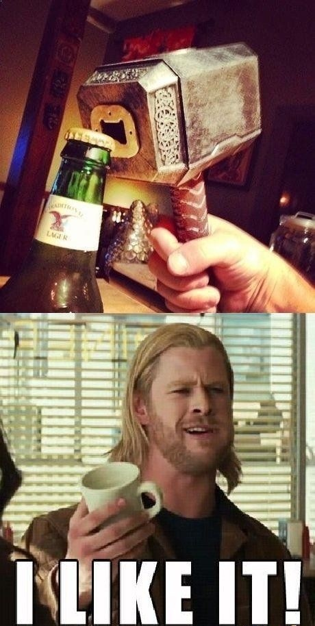 Thor loses his eye in the new film - meme