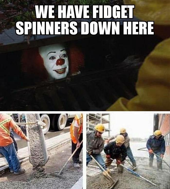 Fidget spinner - meme