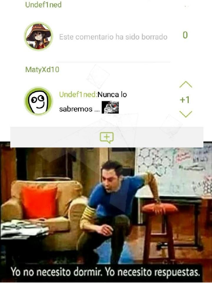 Esta en uno de mis memes, y necesito las respuestas ya