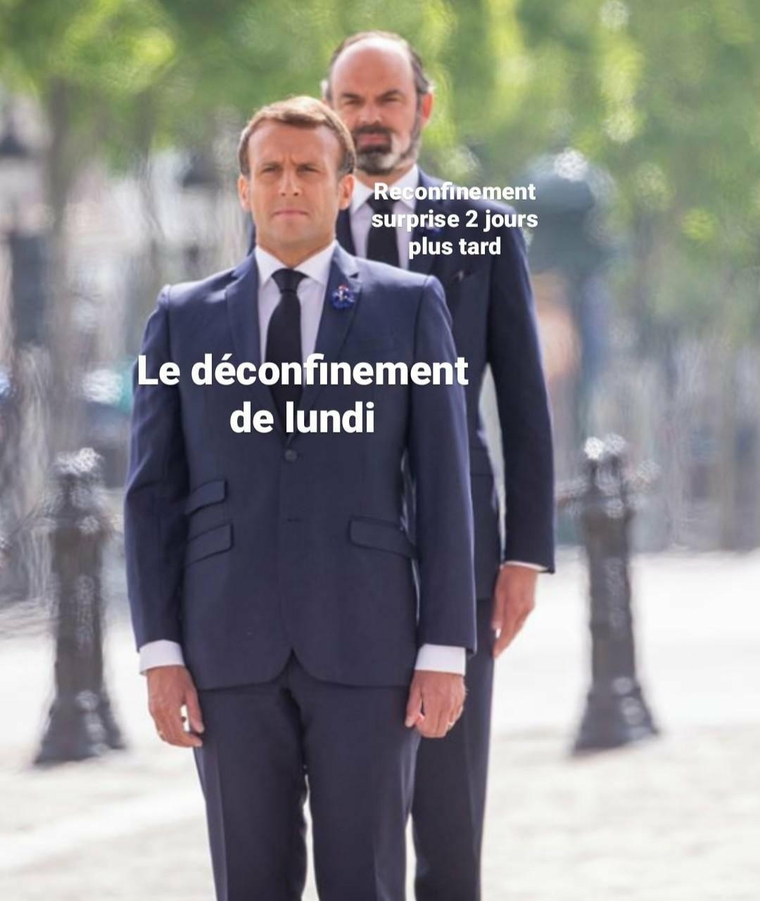 La deuxième vague - meme