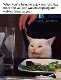 ughh....... waiter bdays..... - meme