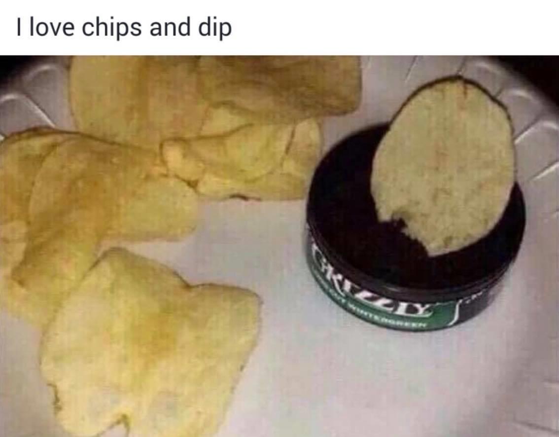 spicy dip - meme