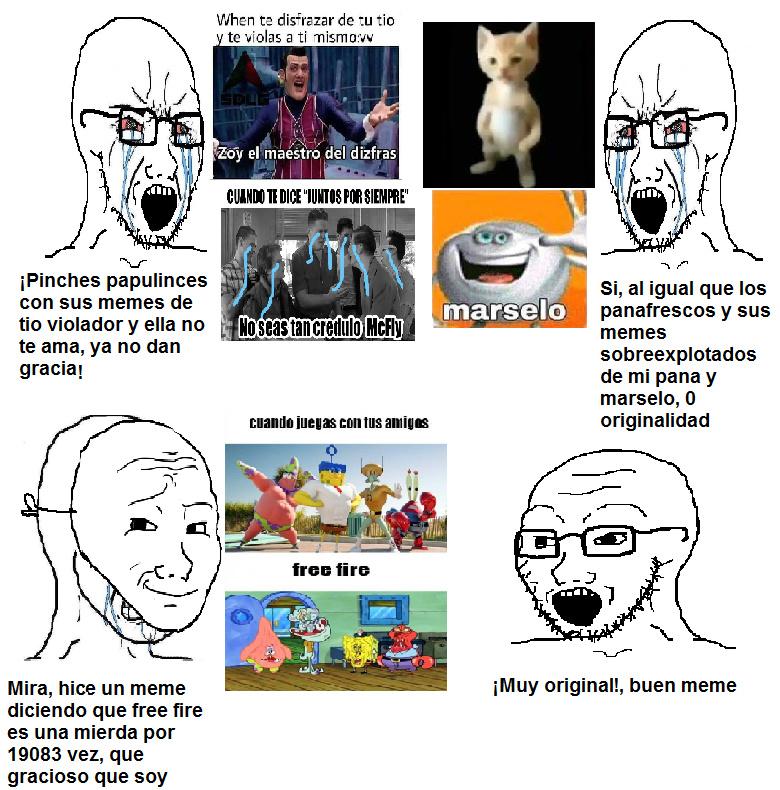 Perdon por la calidad de las imagenes que utilicé, lo hice en paint - meme