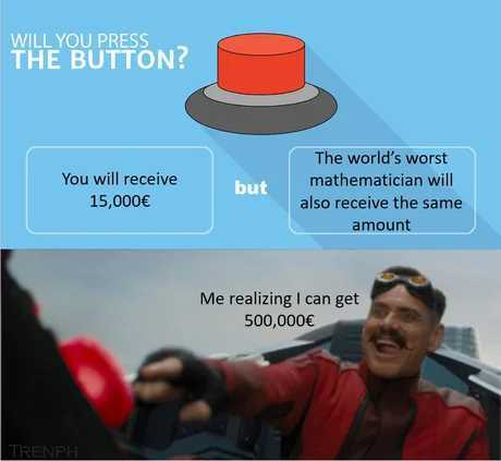 The risk i took was calculated - meme