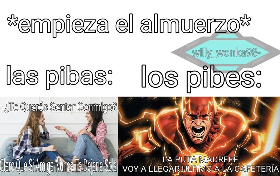 La wea quemada - meme