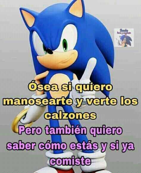 SonicFrases - meme