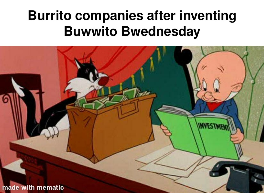 Finally some competition for Taco Tuesday - meme