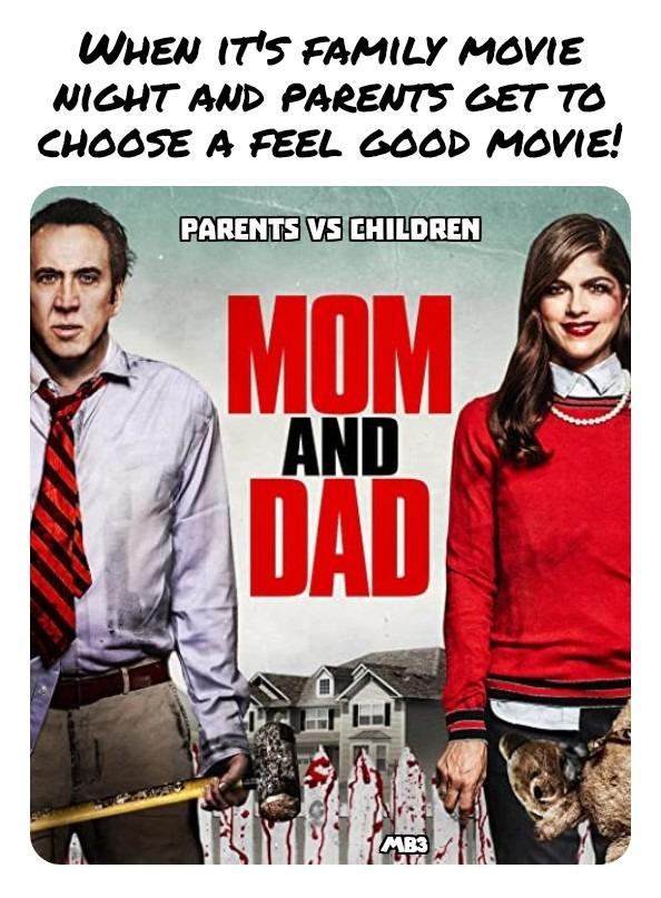 Family Movie Night - meme