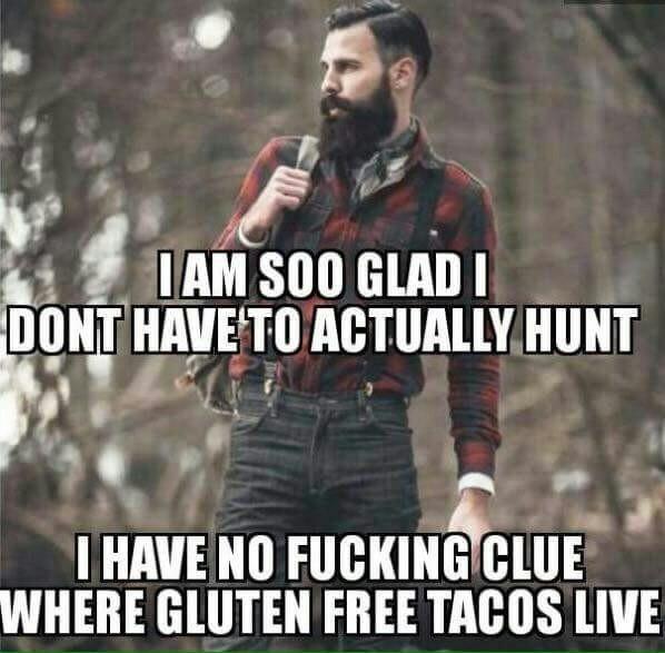 Where do gluten-free tacos live? - meme