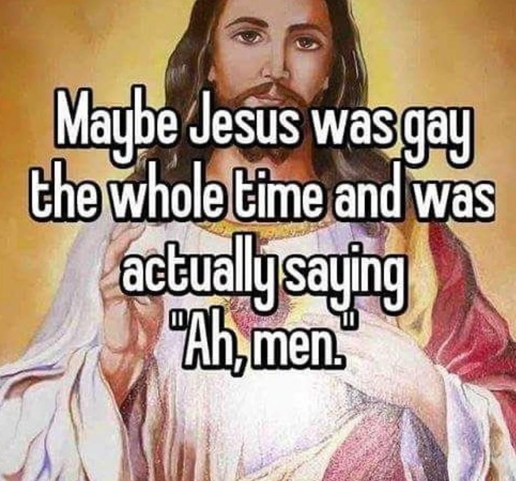 A men - meme
