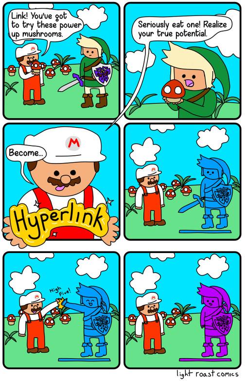 Hyperlink for smash - meme