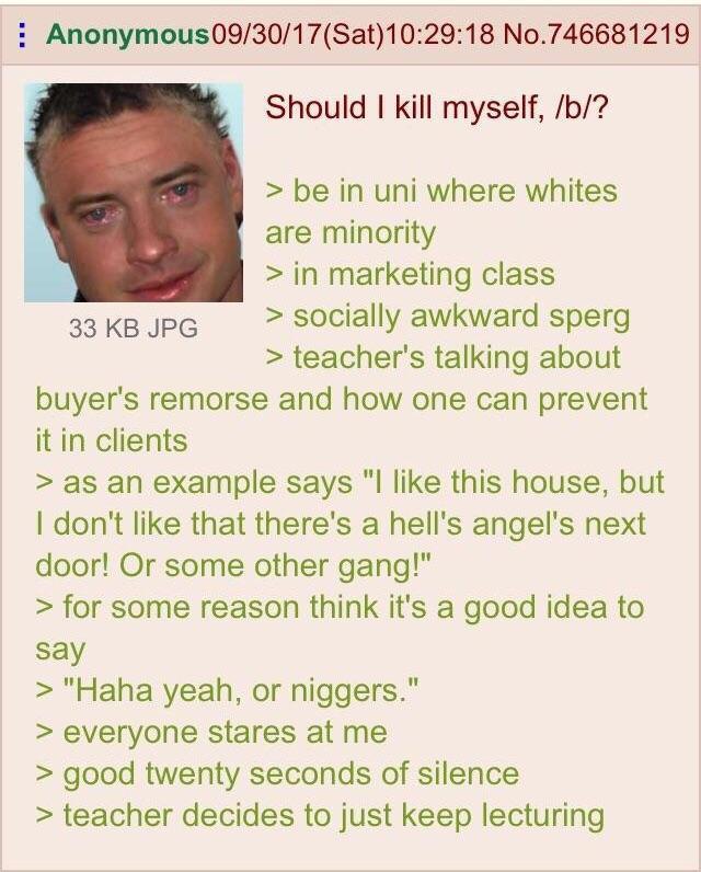 /b/ in a nutshell - meme