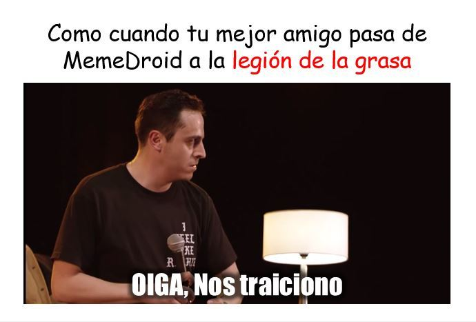 TRAICION - meme