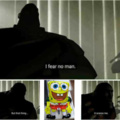 Spongebob fa paura