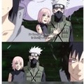 trad: Donc la grande guerre des ninja est enfin terminé maintenant. Sauvegarde rapide.