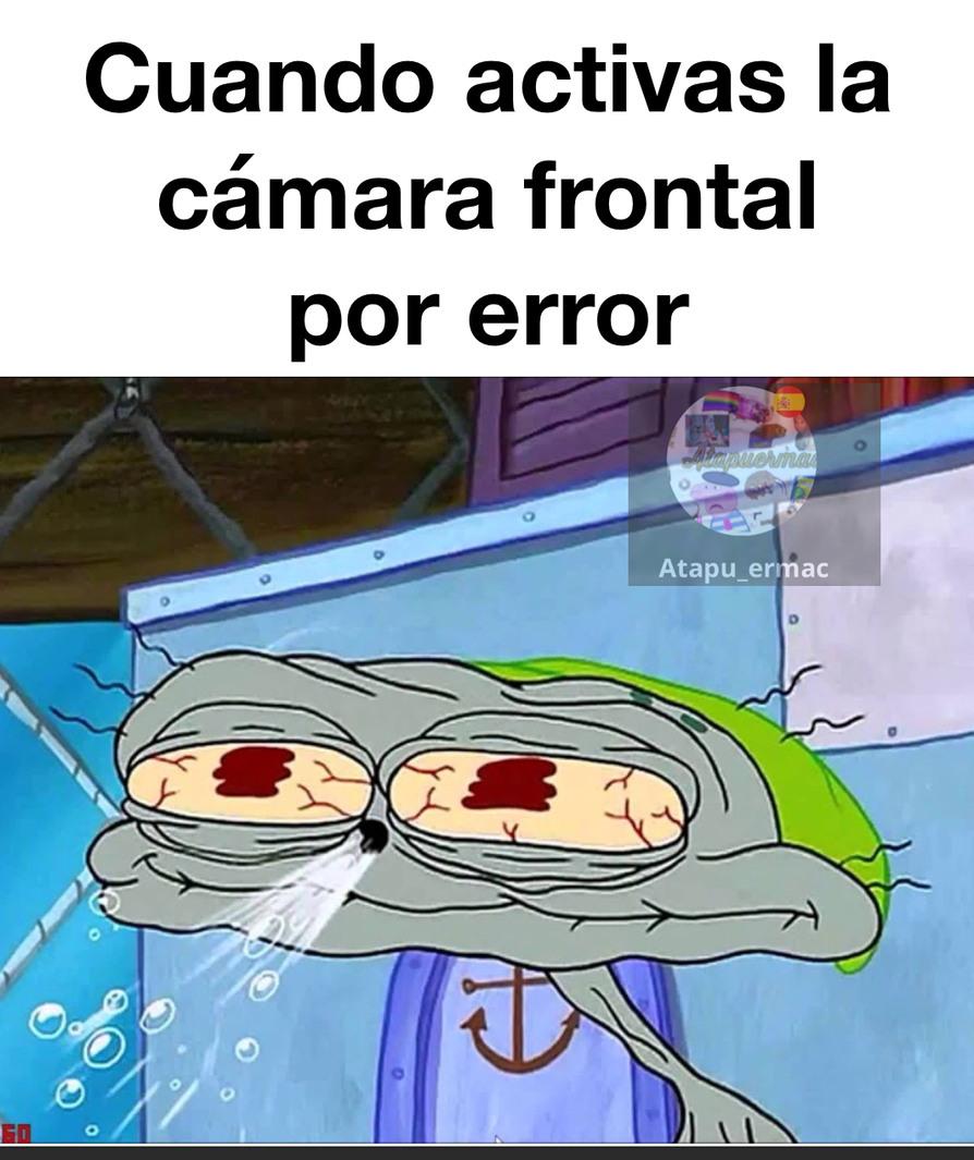 Cámara frontal - meme