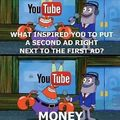 Krabs got youtube figuired out man..