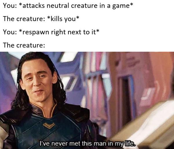 Loki low key thicc - meme