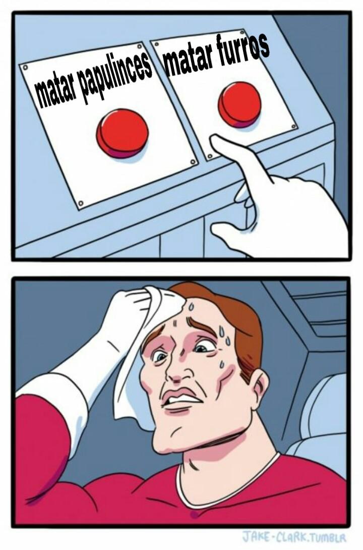 Decisión difícil - meme