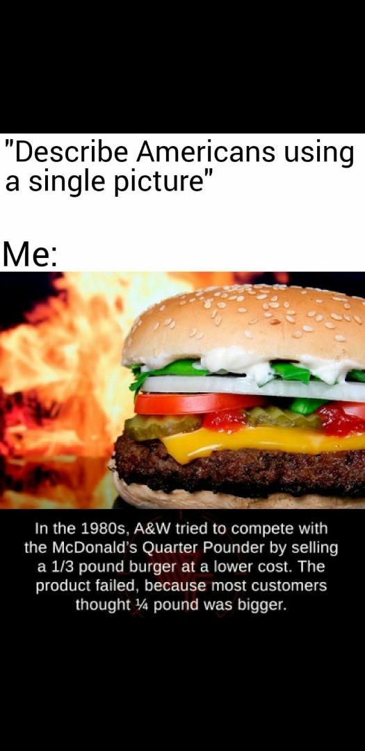 America sucks - meme