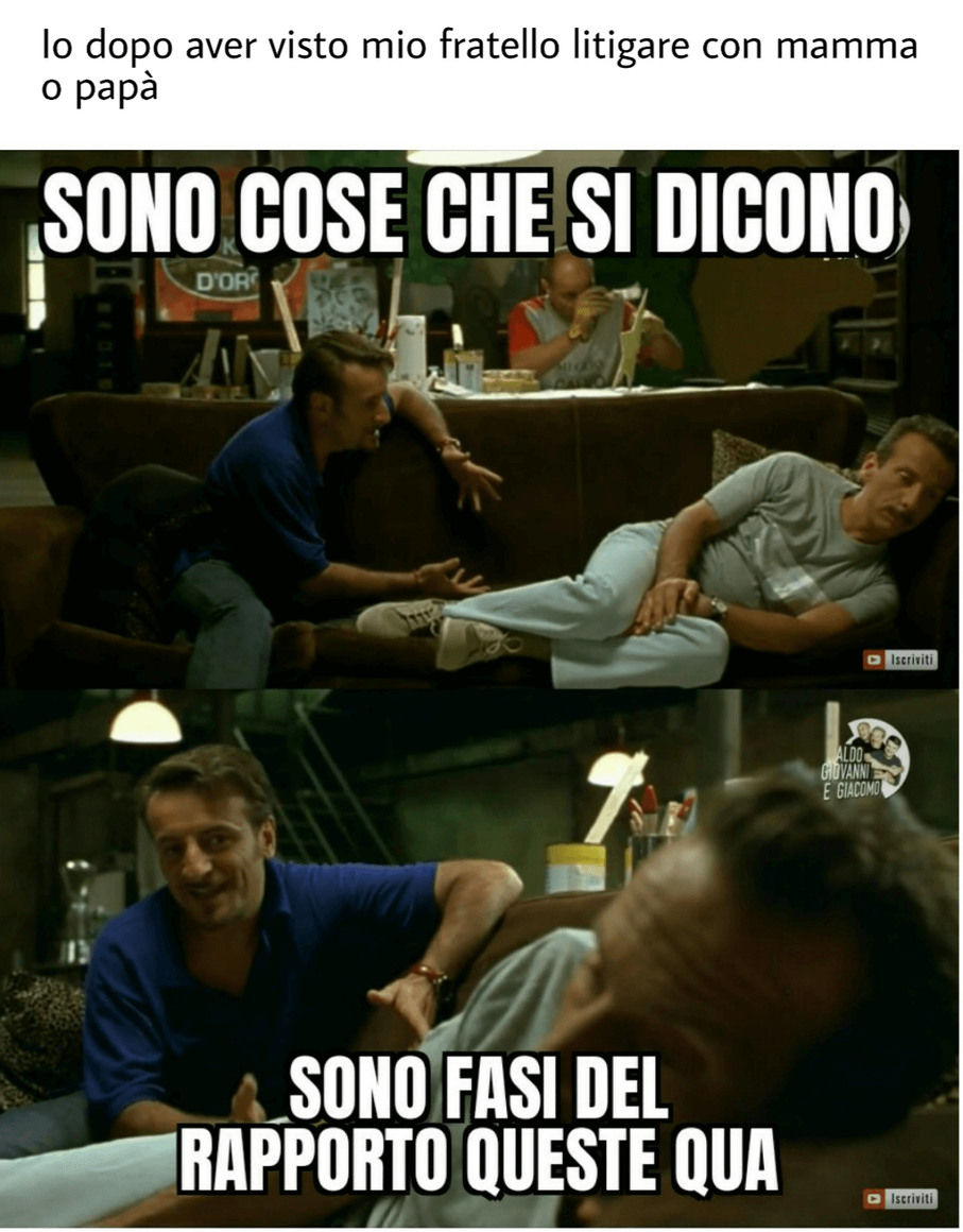 Giacomino be like - meme
