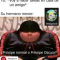 Príncipe o príncipe oscuro? :son:
