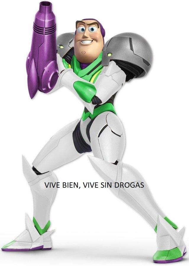 buzz samus - meme