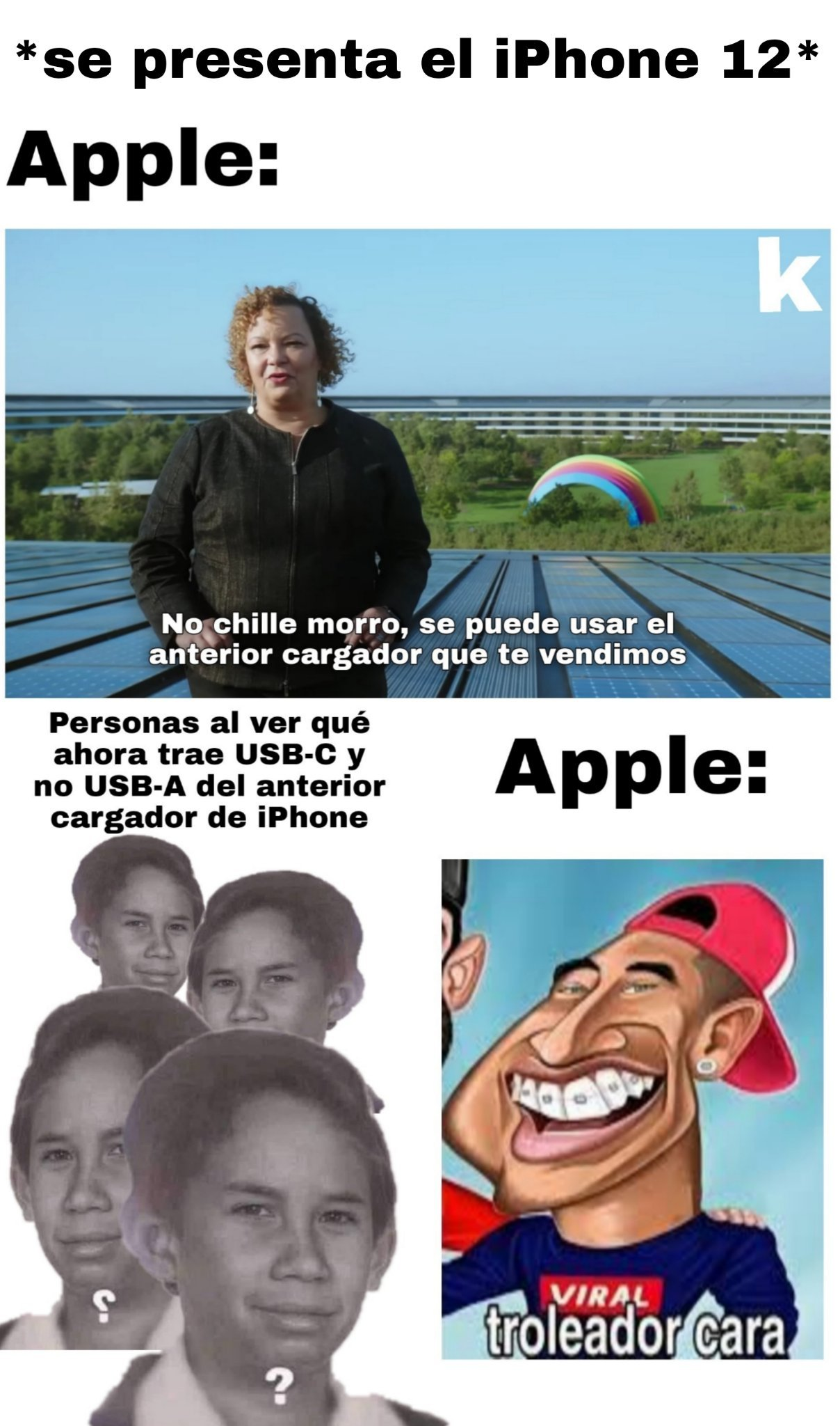 Apple siendo Apple, ¿No? - meme