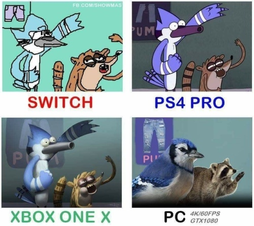 yo prefiero la PS4 - meme