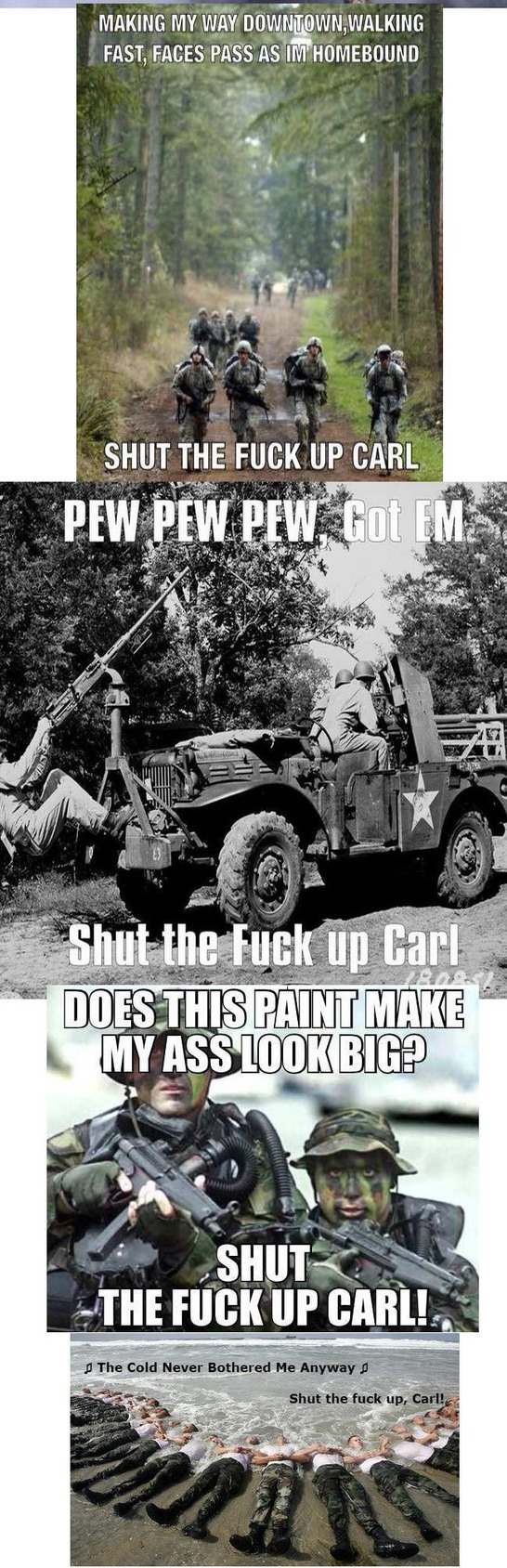 Carl is at it - meme
