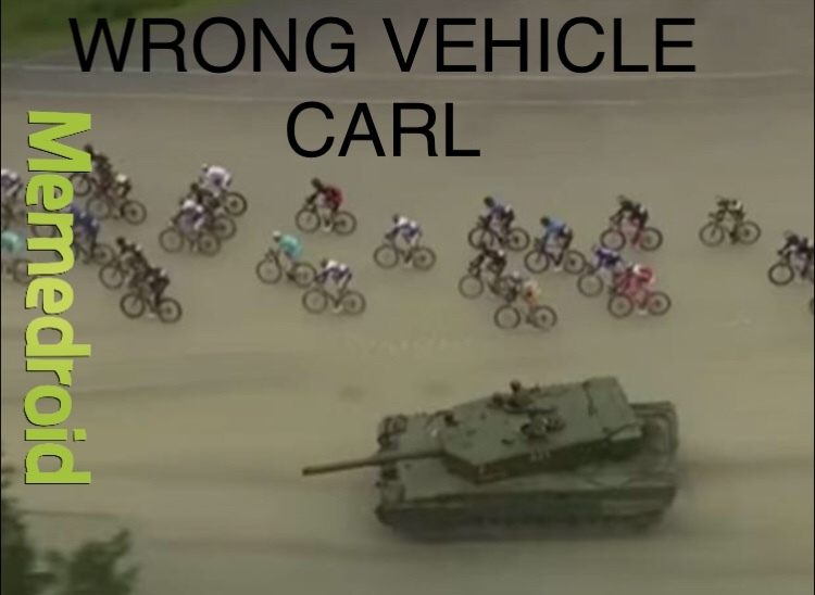 CARL NOT AGAIN - meme