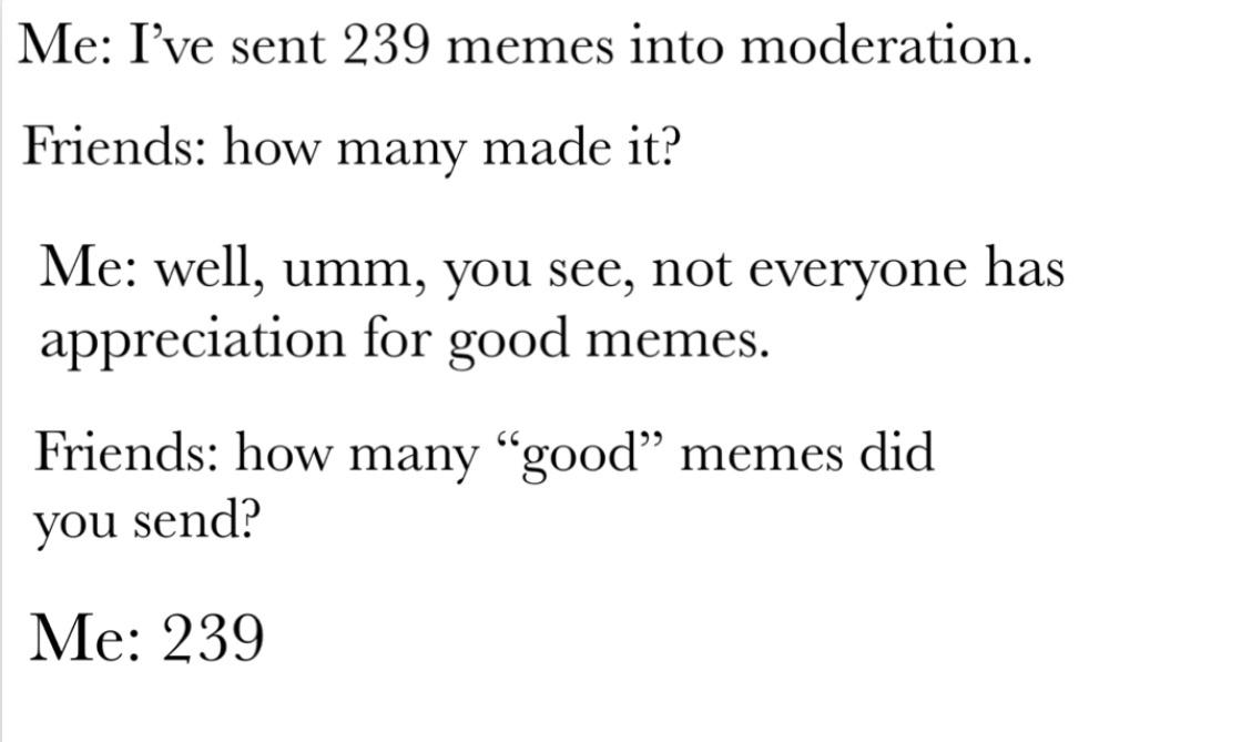 Meme moderation