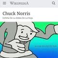 Chuck Norris tiene el sharingan