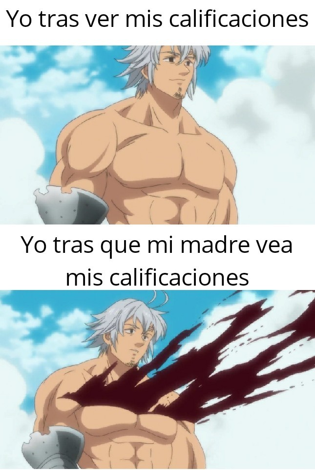 Calificaciones - meme