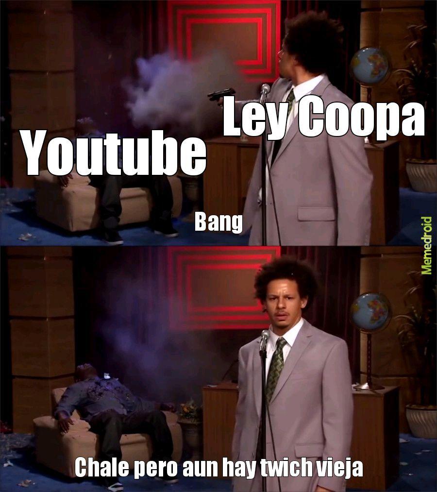 Ley Coopa - meme