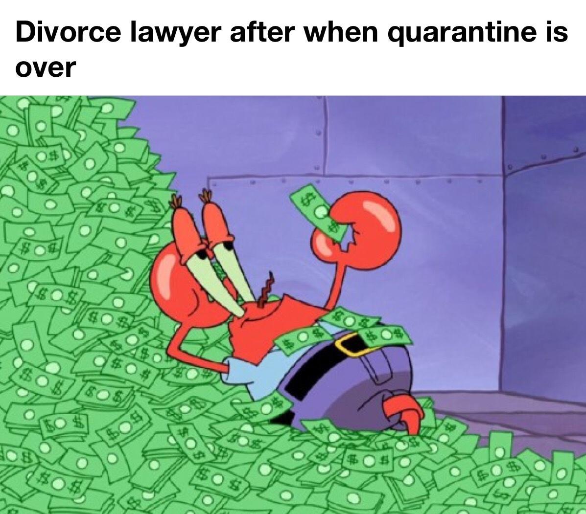 divorce lawyer - meme