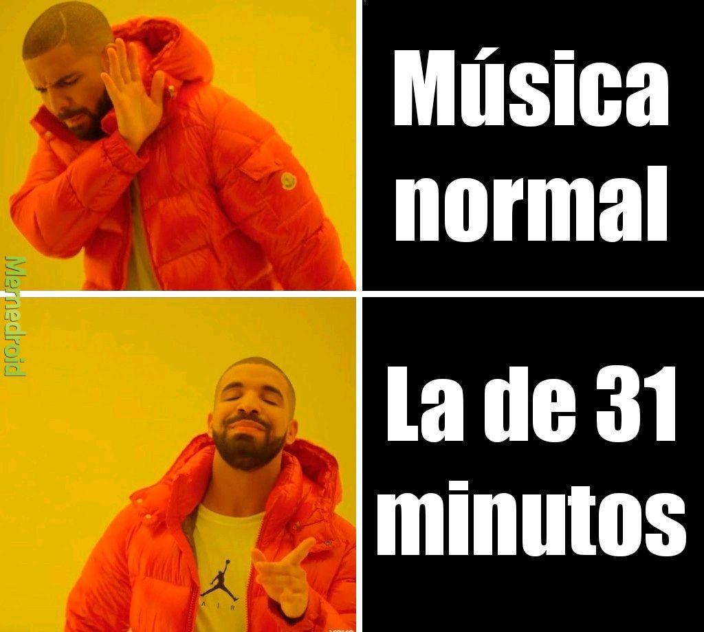 Soy super fan de 31 minutos comenta tu canción favorita de 31 minutos :3 - meme
