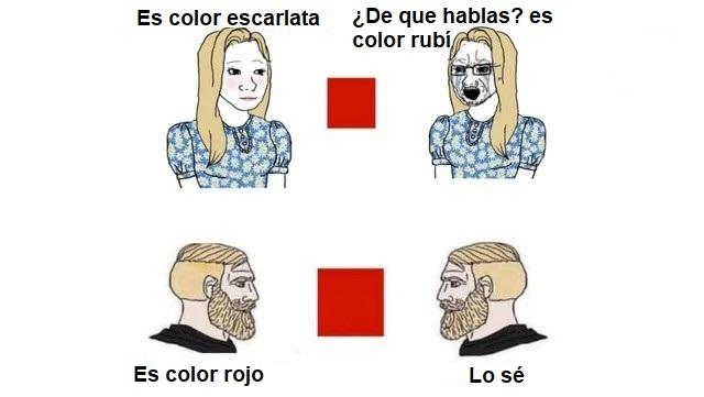 Colores - meme
