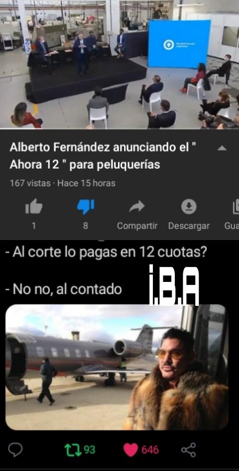 Argentina,un país caca - meme