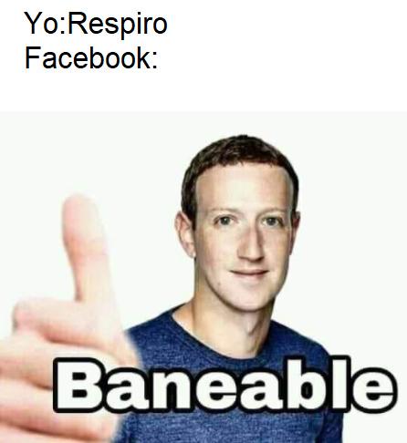 maldito facebook - meme