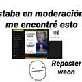 Reposter weon