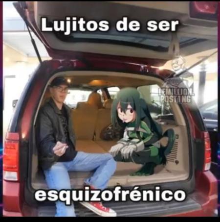lujitos (carita con lengua verde y icono de dinero) - meme