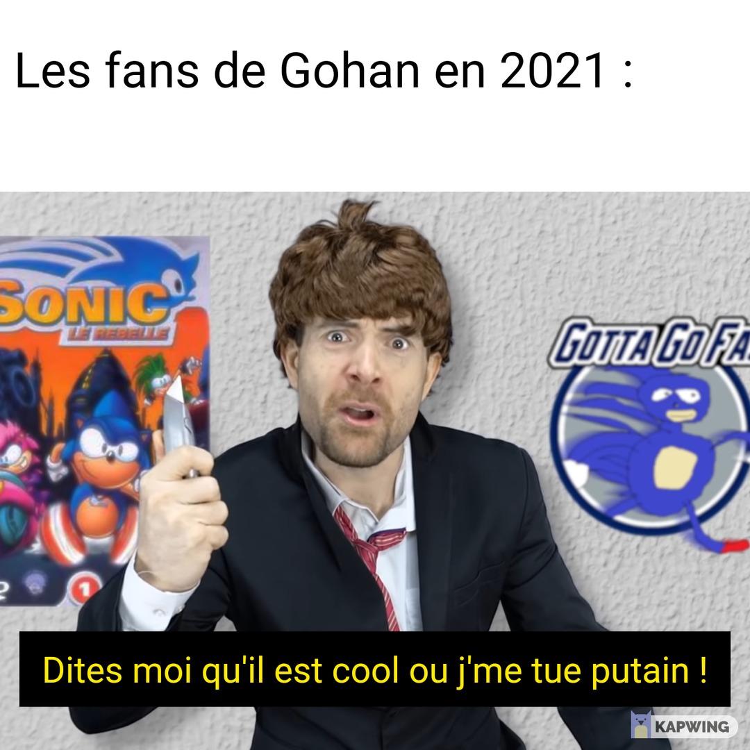 Gohan le maghrébin - meme