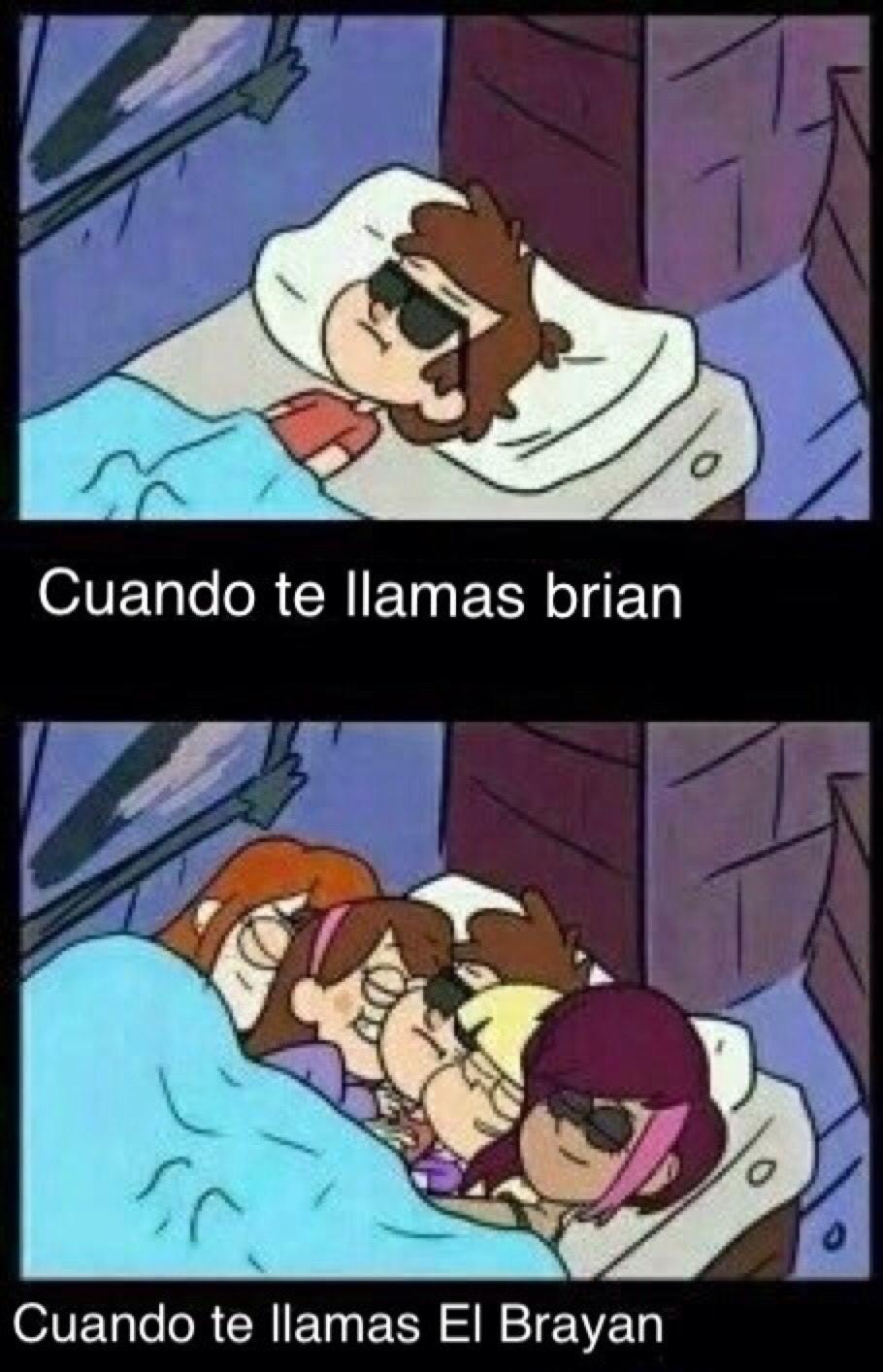 El título se llama El Brayan - meme
