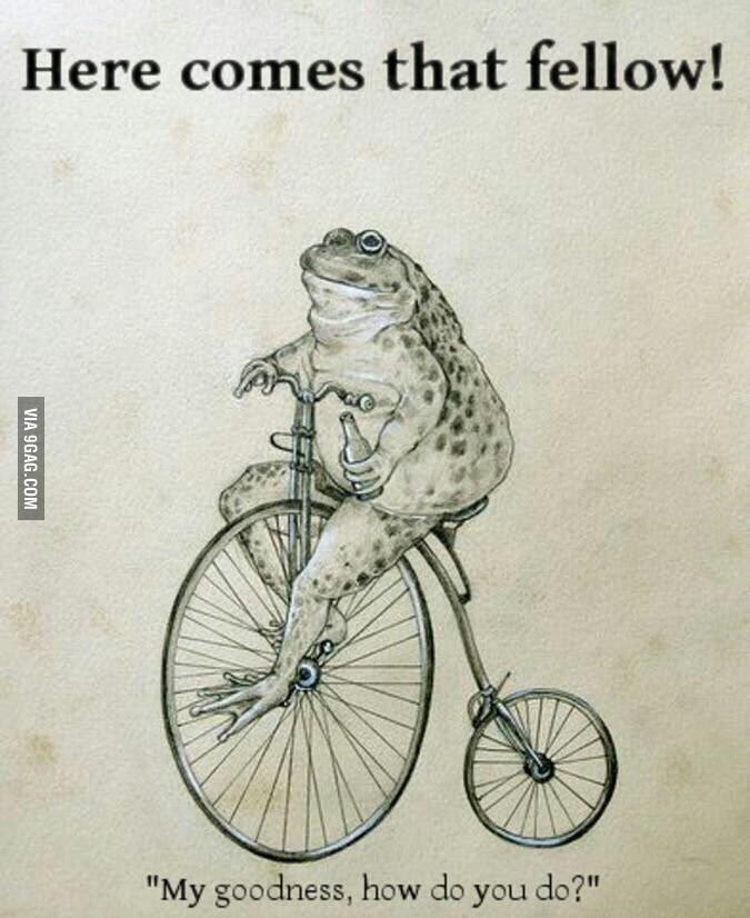 That fellow! - meme