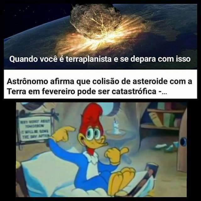Terraplanismo - meme