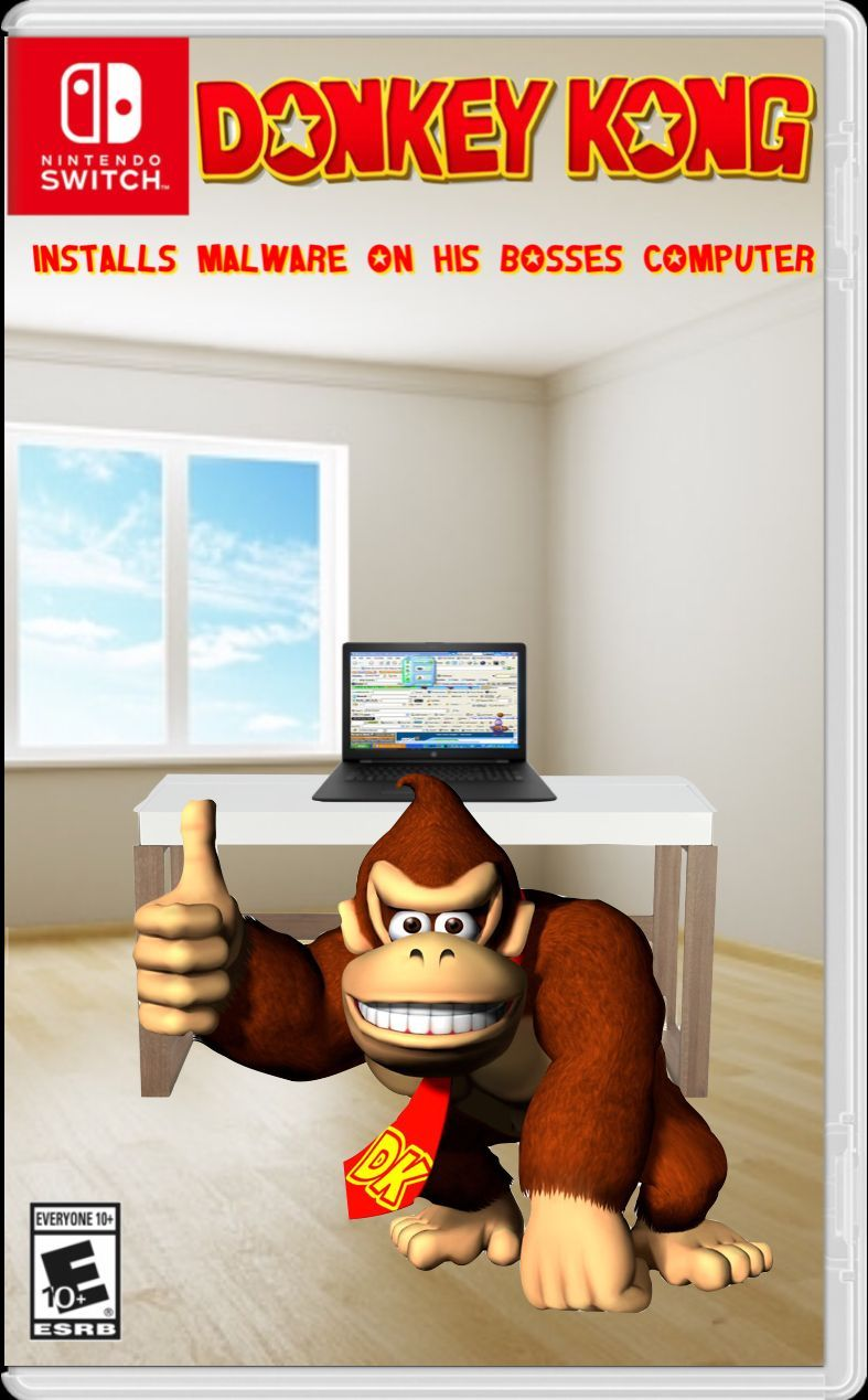 Donkey Kong will involve to be goku. Dun dun dun....... - meme