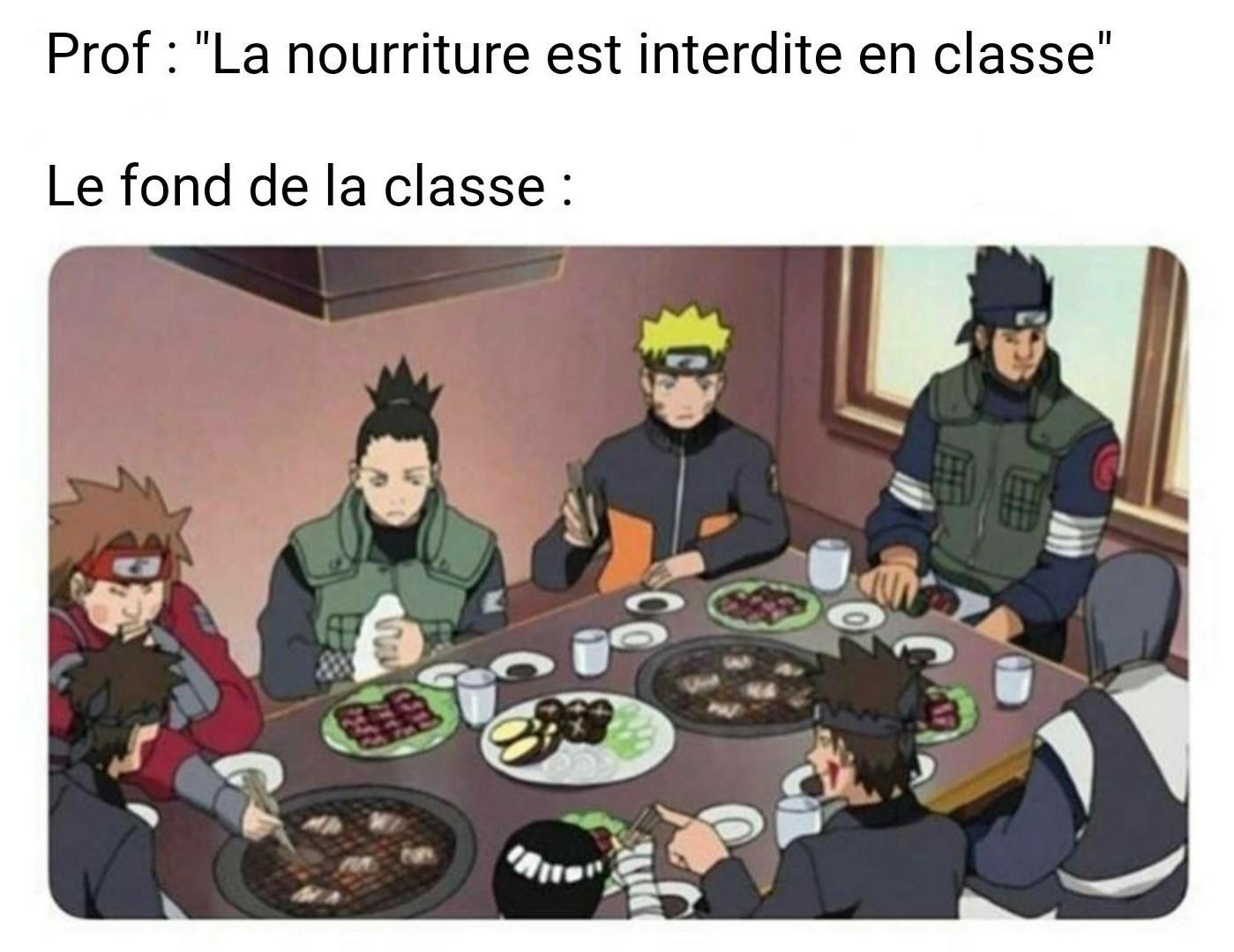 Toujours le fond de la classe :/ - meme