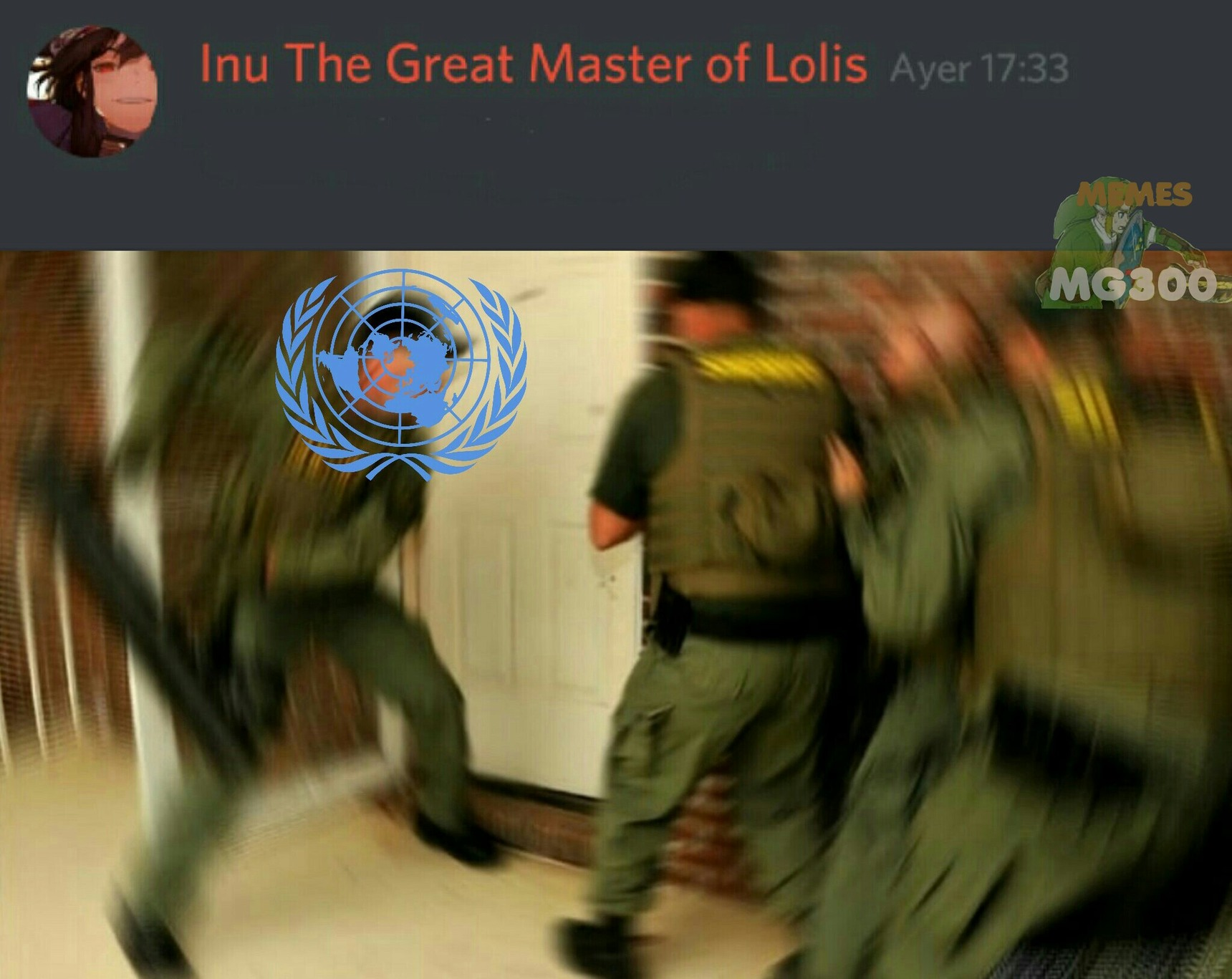 ONU incoming - meme