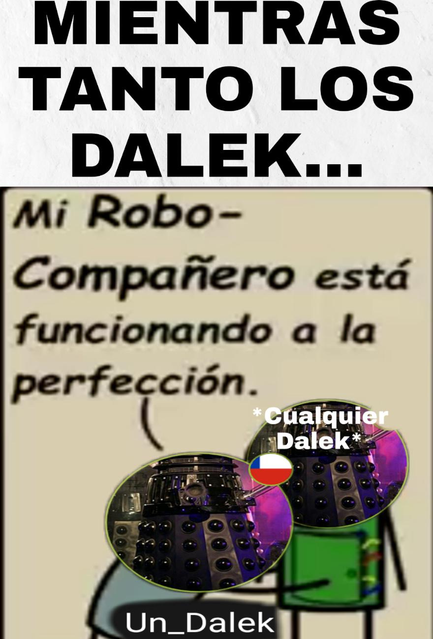 F por la dignidad de Un_Dalek. Pobre dignidad, se perdió en Memedroid.